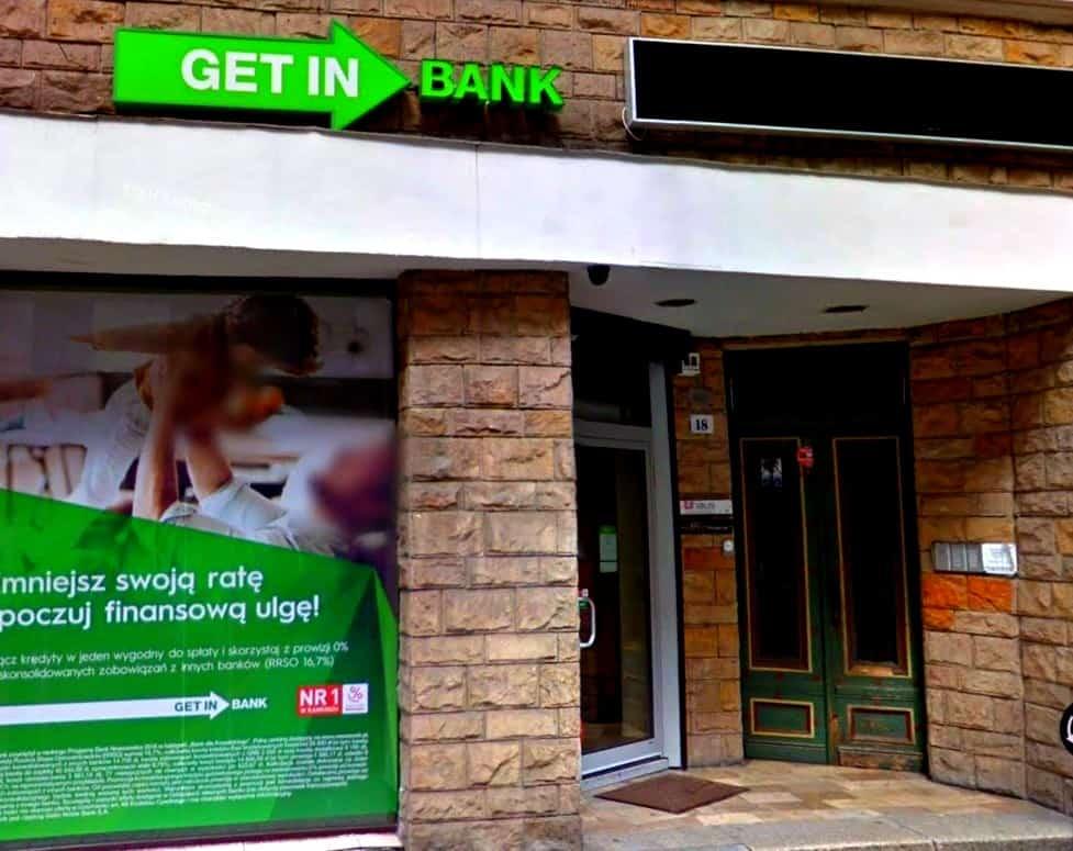 Getin Bank toruń